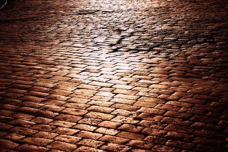 cobble: Cobble della citt�, alleggerito da domenica sera Archivio Fotografico