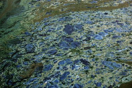 taint: Tainted water  texture- with technical oil and lubrikant