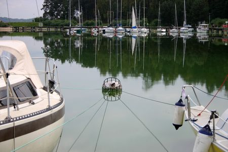 yachtsman: Yachts in the lake, details