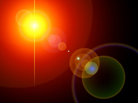 Iluminación de fondo. Digitaly creado  Foto de archivo - 239819