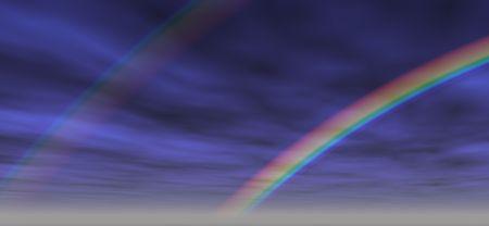 Rainbow fond. Digital design