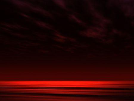 satelite: La noche del oc�ano de fondo