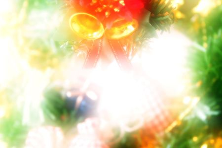 Christmas background in a dream style
