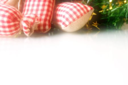 donative: Christmas background, dream looking tone Stock Photo