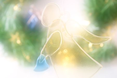 bounty: Christmas background, dream looking tone Stock Photo