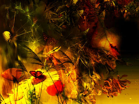 background textures: Background seasonal, abstract floral