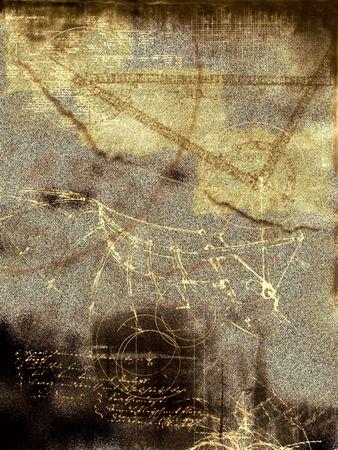 Historique, r�sum� conception  Banque d'images