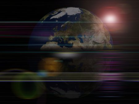 foreign nation: Global background series- Earth planet