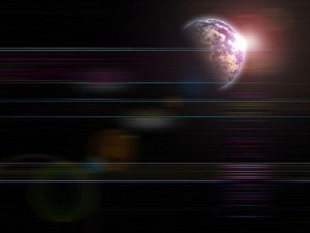 Global fond s�rie Earth Rising