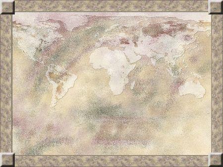 pastel colours: Mapa de fondo, enmarcado en colores pastel luz