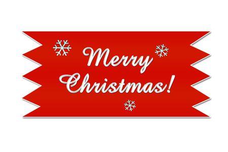 Christmas ribbon Stock Photo - 254131