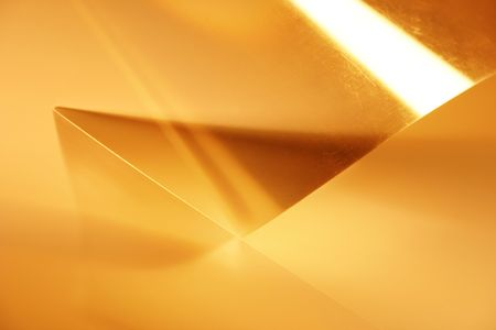 Transparent lights geometry. Abstract photo of technical paper Stock Photo - 259331