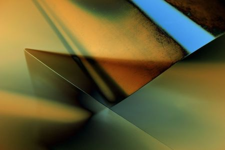 Transparent lights geometry. Abstract photo of technical paper Stock Photo - 259324