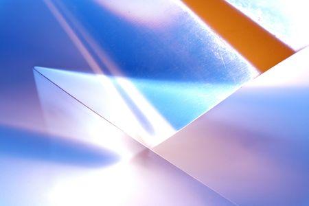 Transparent lights geometry. Abstract photo of technical paper Stock Photo - 259309