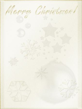 Christmas background. Light parchment like paper, retro mode Stock Photo - 259270
