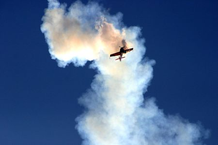 aircrew: Plane in the cloud of smoke. Seems like a plane crash