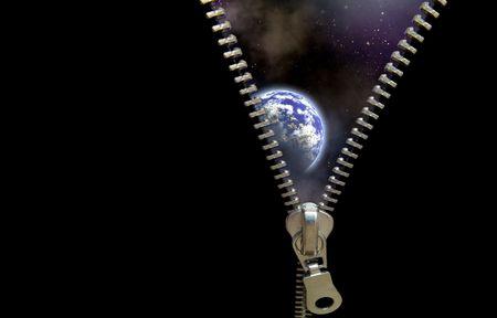descubrir: Zipper concepto. Descubre Universo