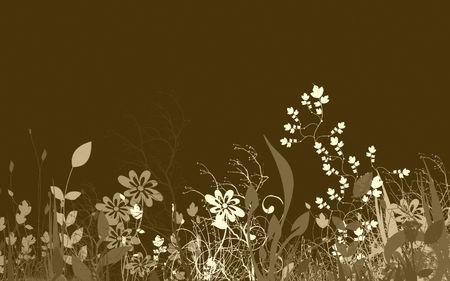 Contexte floral