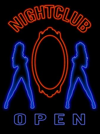 Neon signs photo
