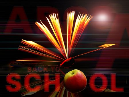 Back to School background Stock Photo - 496617