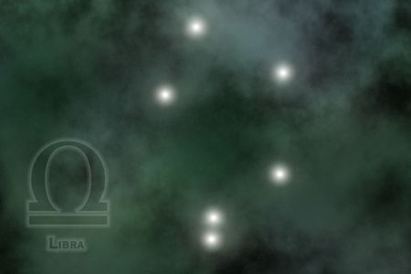 Zodiac constellation - Libra Stock Photo - 512154