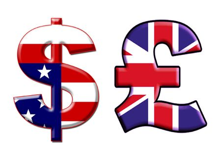 usd: Currency signs: USD and England Pounds. Isolated
