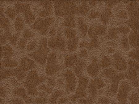 peltry: Animal fur texture - brown rabbit Stock Photo