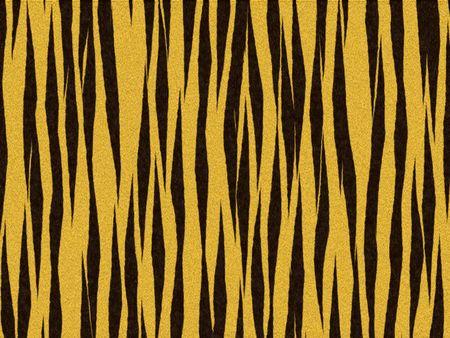 peltry: Animal fur texture - tiger orange fuzzy