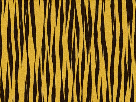Animal fur texture - tiger orange fuzzy