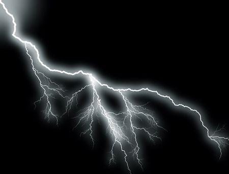 sidelong: White Lightning, sidelong Stock Photo