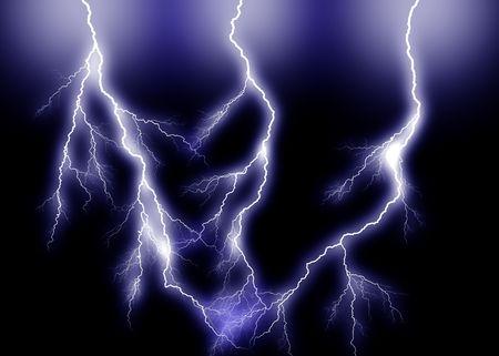 triple: Blue triple Lightning