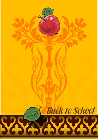 Vector Back to School background Vector