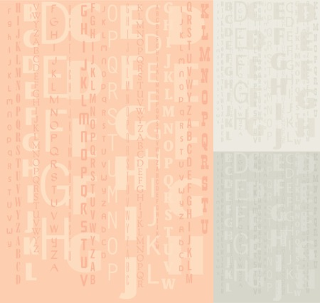 Vector alphabet background, school and educational theme Vector