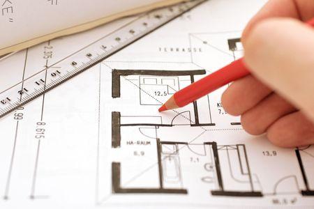 correct a floorplan