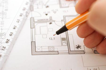 floorplan: correction on an floorplan
