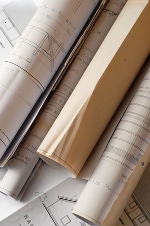 plans for house construction Stock Photo - 414127