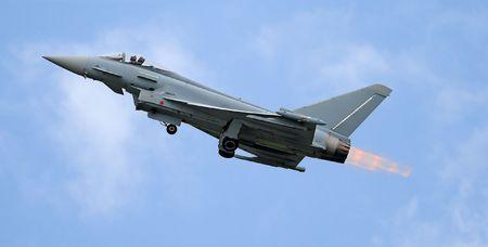 afterburner: fighter take off with afterburner