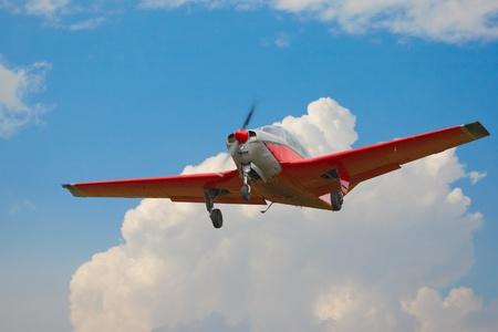 light single propeller jet