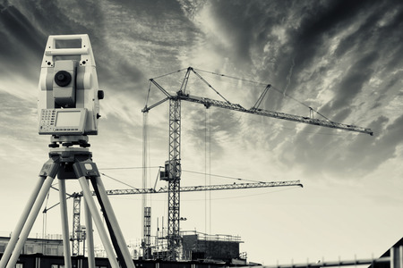surveyors: surveyors measuring instrument and construction industry
