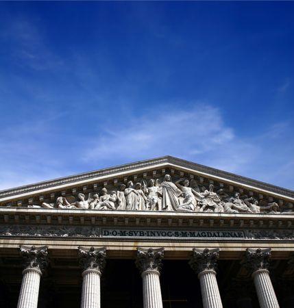 A Church in Paris Stock Photo