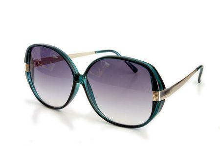 Isolated Sunglasses Stock Photo