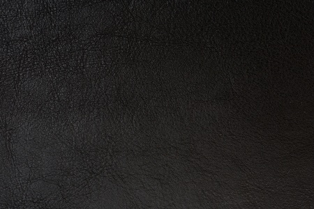 Black artificial leather background