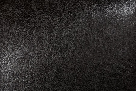 Black artificial leather background photo
