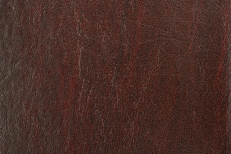 Brown artificial leather background