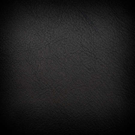Black leather background with matte surface