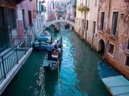 Travel Italy Venice CityMinolta Dimage7 Stock Photo