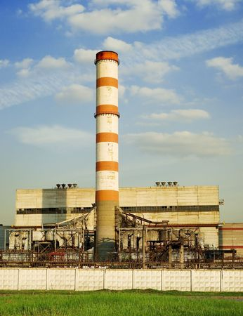 Moscow factory Stock Photo - 491416