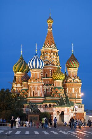 Moscow, Red square, Cathedral Basil Stock Photo - 503850