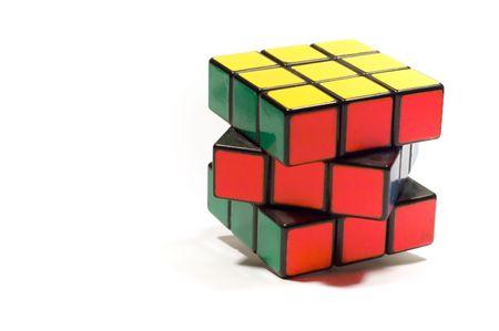 conundrum: serie delloggetto su bianco: isolato - giocattolo-Enigma