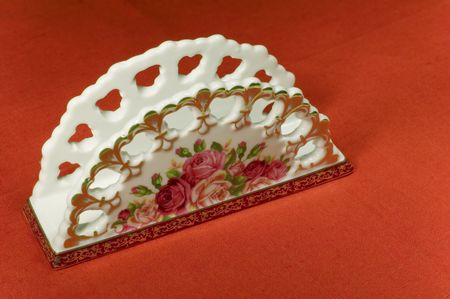 servilleta de papel: para establecer la mesa - serviette  Foto de archivo